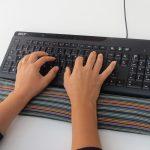 Reposa muñecas para teclado y ratón del ordenador